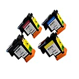 Ouguan Ink compatible HP80 printheads with New Updated Chips fit for HP DesignJet 1050c 1050c Plus 1055C 1055cm 1055cm Plus (1BK 1M 1Y 1C 1Set)