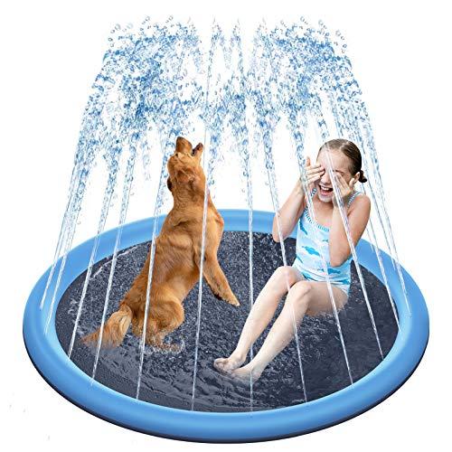 Delicacy Splash Sprinkler Pad for Dogs,67