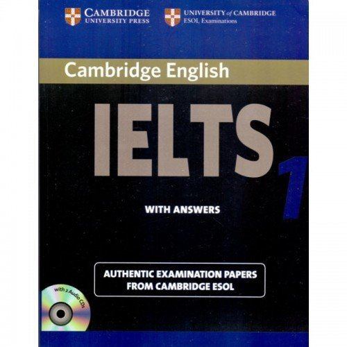 Camb Ielts 1: Self – Study Edition with 2 Audio CDs (South Asian Edition)