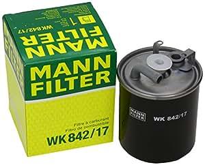 Mann-Filter WK 842/17 Filtro para Combustible