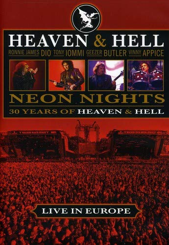 Neon Nights: 30 Years of Heaven & Hell- Live in - Graphic Spine