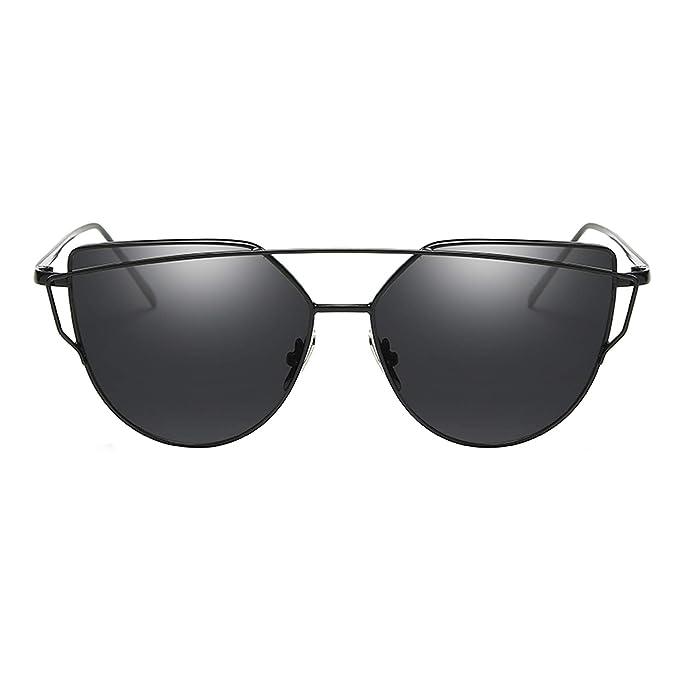 Amazon.com: Gafas de sol para mujer, estilo vintage, con ...