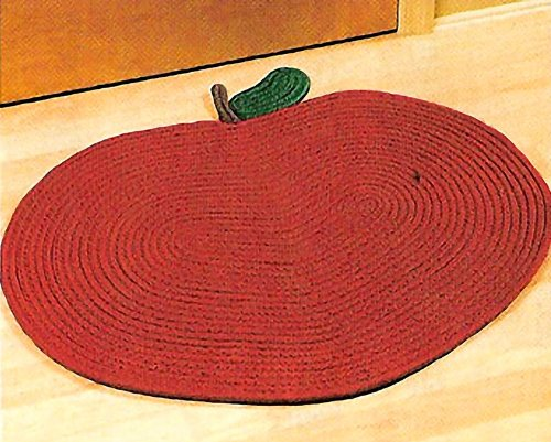 APPLE DESIGN BRAIDED AREA RUG - 30