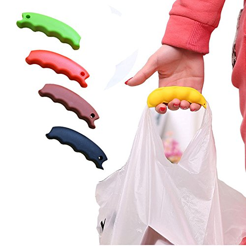 LIAN--Portable Silicone Mention Dish For Shopping Bag Mention Dish to Protect Hands (La Charles Shopping Lake)