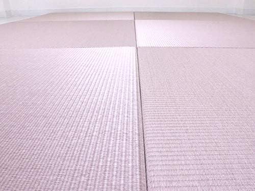 置き畳 セキスイ美草 ピンク 【半畳3枚セット】【青畳工房製作】 migusa 琉球畳 ユニット畳 国産
