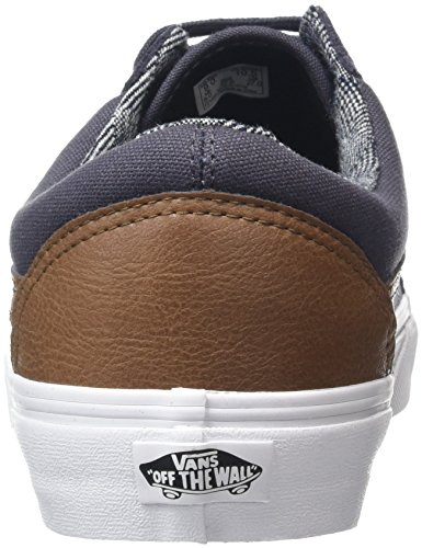 Old amp;l Basse Scarpe Skater C Adulto Unisex Vans da White True Skool Periscope Grigio BqXEdZ