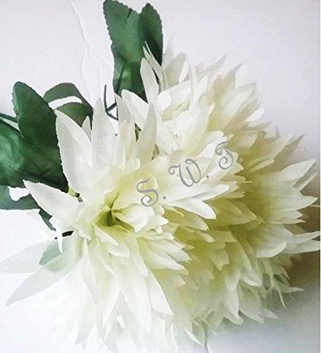 13-Fuji-Mum-Bush-Artificial-Silk-Wedding-Craft-Flowers-Bouquet-Home-Party-Decoration-6-Mums