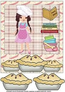 Baking niña la parte delantera 5de Sharon Poore