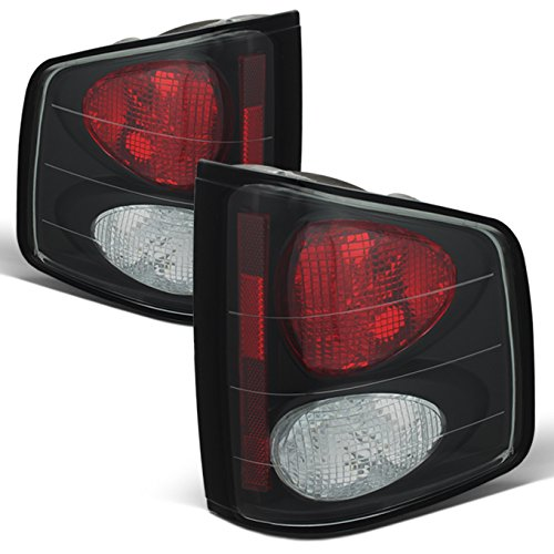 - For 94-04 Chevy S-10 | GMC Sonoma | 96-00 Isuzu Hombra Black Rear Tail Lights Signal Brake Lamps Smoked Left + Right