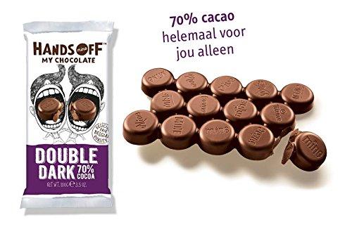 Hands Off My Chocolate 70% Double Dark Chocolate Bar