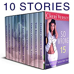 So Wrong 15: The Ultimate Taboo Box Set by [Verset, Cheri]
