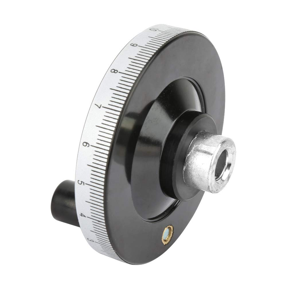 Milling Hand Wheel 1080mm Solid Bakelite Hand Wheel Scale Handwheel Machinery Accessory for Lathe Milling Machine