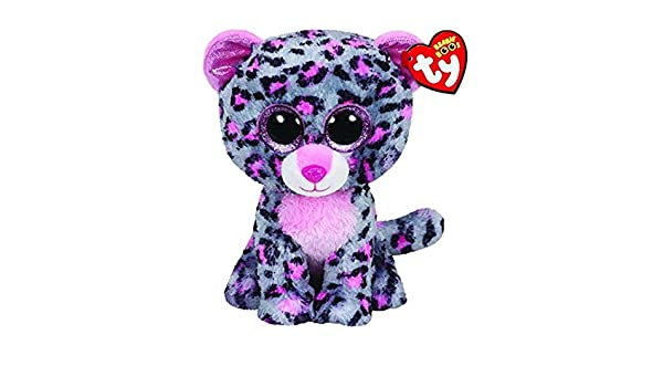 Amazon.com: JEWH Ty Beanie Boos Elephant and Monkey Plush Doll Toys for Girl Rabbit Fox Cute Animal Owl Unicorn Cat Ladybug (Gray Purple Leopard) : Toys & ...