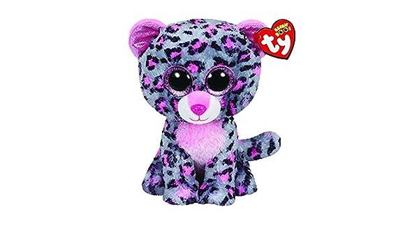 Amazon.com: JEWH Ty Beanie Boos Elephant and Monkey Plush Doll Toys for Girl Rabbit Fox Cute Animal Owl Unicorn Cat Ladybug (Gray Purple Leopard) : Toys & ...