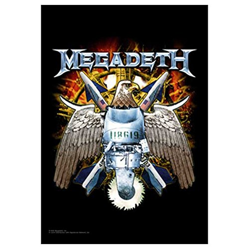 MEGADETH Eagle Tapestry Cloth Poster Flag Wall Banner 30