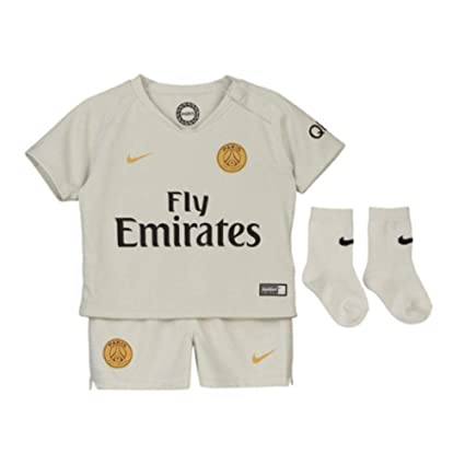 b8417d08771 Image Unavailable. Image not available for. Color: Nike 2018-2019 PSG Away Baby  Kit