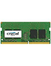 Crucial CT8G4SFS824A 8 GB (DDR4, 2400 MT/s, PC4-19200, Single Rank x8, SODIMM, 260-Pin) Memory