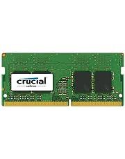 Crucial 8GB Single DDR4 2400 MT/s (PC4-19200) SODIMM 260-Pin Memory CT8G4SFS824A