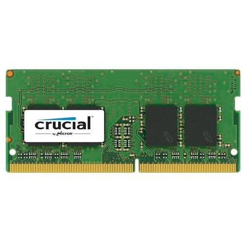 Crucial 8GB Single DDR4 2400 MT/S (PC4-19200) SR x8 Unbuffered SODIMM 260-Pin Memory - CT8G4SFS824A (Micron Laptop)
