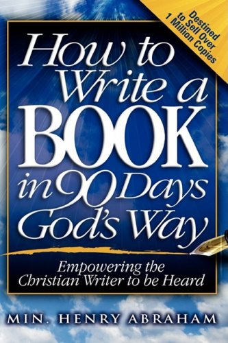 writing a christian book If you were writing a book to encourage christian men to be strong leaders for their families, you would want to write in such a way that the readers would be challenged and engaged while there is no simple answer for every book, it is vital that you know whom you are writing this book for.