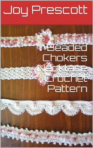Beaded Chokers Necklace Crochet Pattern Beaded Choker Pattern