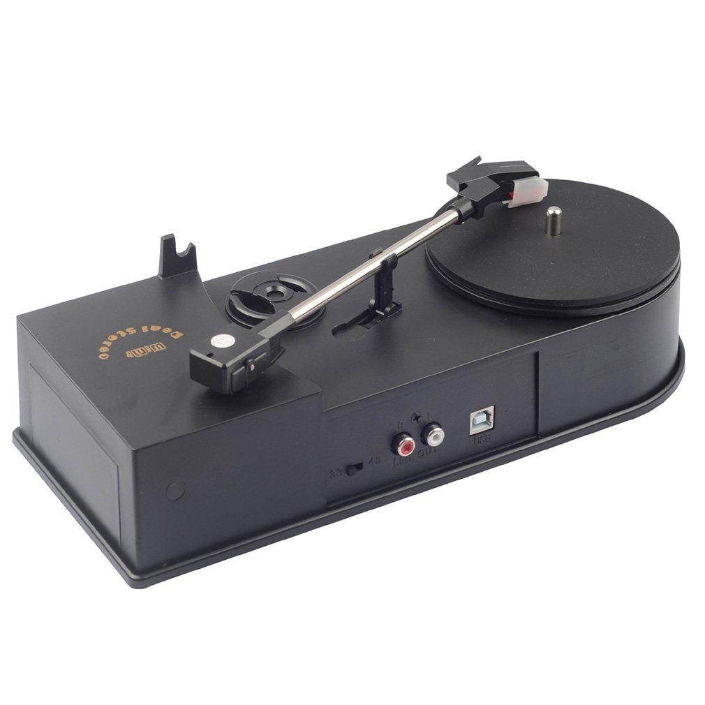 Multifuncional USB Mini Tocadiscos de fonógrafo Reproductor ...