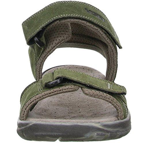 Vista Herren Trekking Wander Outdoorschuhe Sandalen oliv/grün Oliv