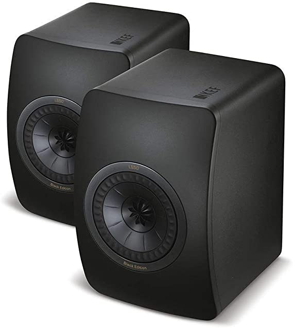 KEF LS50 Mini Monitor - Black Edition (Pair)