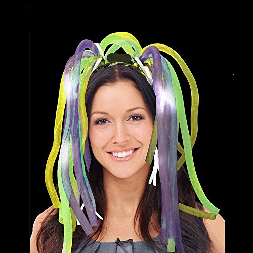 Fun Central Light Up Party Dreads