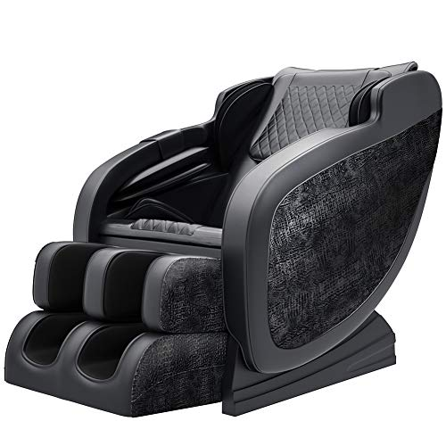 Real Relax 2020 Massage Chair,S-Track, Yoga Stretching, Zero Gravity Electric Massage,black