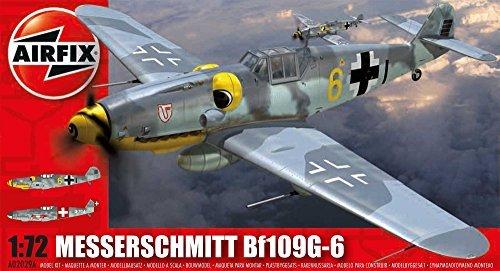 gran descuento Airfix 1 72 72 72 Scale Messerschmitt BF109G-6 Model Kit by Airfix  buen precio