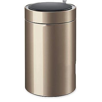Bote de basura inteligente para el hogar: aspecto redondo de ...