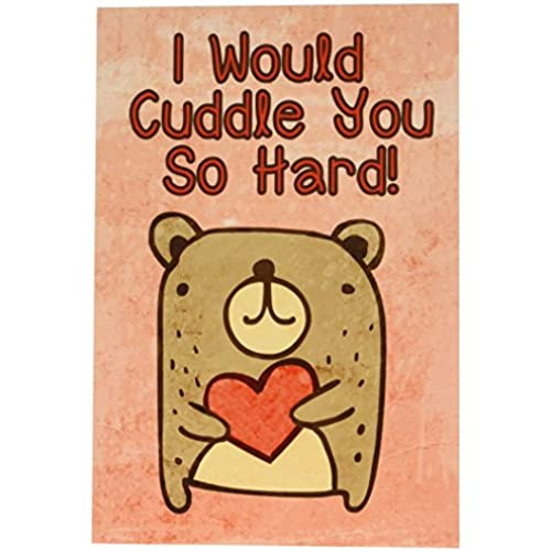 NobleWorks 2197 Cuddle You So Hard Funny Valentine's Day Unique Greeting Card, 5 x 7 Sales