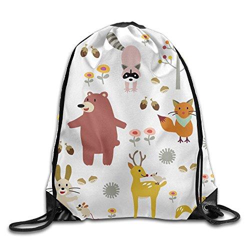 Beam Drawstring Storage Bag Animal Party Travelling Bundle Gym Ball Backpack