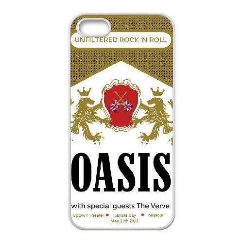 Oasis 001 coque iPhone 4 4S Housse Blanc téléphone portable couverture de cas coque EOKXLKNBC19140