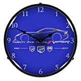 Viper 25 Years Lighted Wall Clock