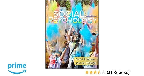 Amazon Com Loose Leaf For Social Psychology 9780077861971 David