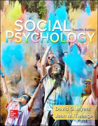 Loose-leaf for Social Psychology cover