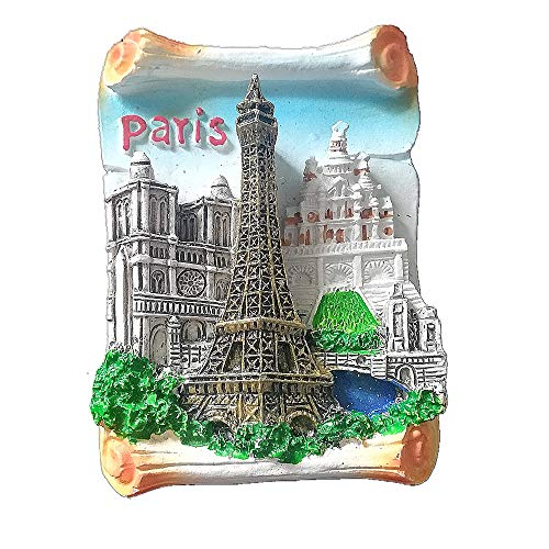 Magnet 3d Eiffelturm Eiffel Tower Paris Denkmal Von Frankreich Erinnerungen E Büro & Schreibwaren