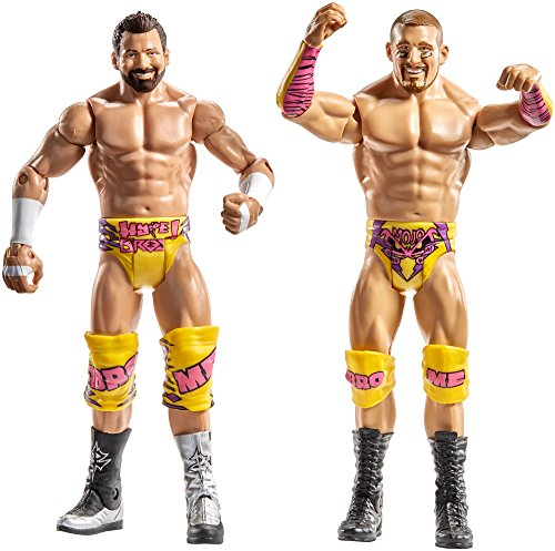 WWE Superstars Mojo Rawley & Zack Ryder Action Figure (2 Pack) by WWE