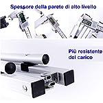 Nestling-91-x-52cm-Tavolo-Pieghevole-da-Campeggio-in-Alluminio-Regolabile-in-Altezza-Portatile-da-Tavolo-da-GiardinoBarbecueTour-Self-Driving-Spalle-Borsa-91-x-52cm