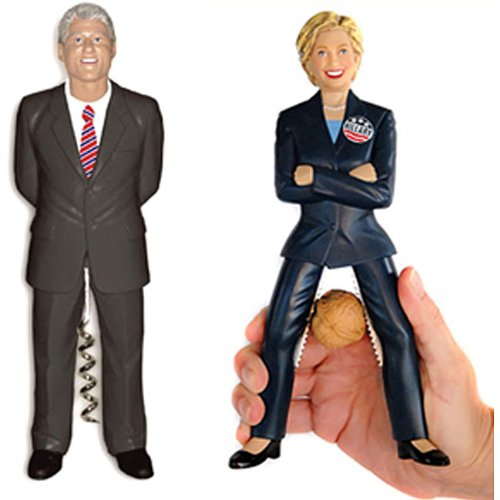 The Hillary & Bill Clinton Combo Set by Clinton ()