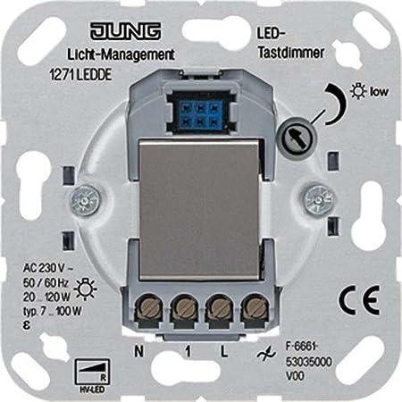 Jung LED-Tastdimmer 1271LEDDE: Amazon.de: Baumarkt