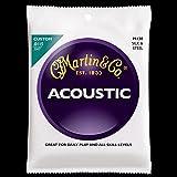 Martin M130 Silk & Steel Folk Guitar Strings, Light
