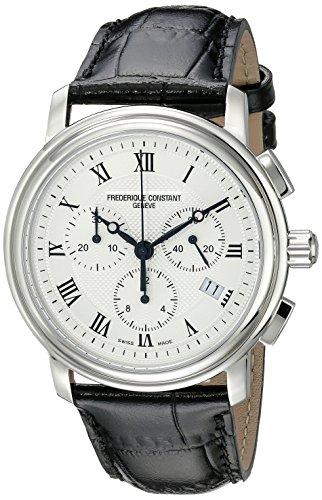 Amazon.com  Frederique Constant Men s FC292MC4P6 Persuasion Stainless Steel  Chronograph Watch With Black Leather Strap  Frederique Constant  Watches 34b37cc5b85