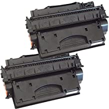 2 Inkfirst® Toner Cartridge Compatible with CE505X, CF280X (05X/80X) Compatible Remanufactured for HP CE505X, CF280X Black LaserJet P2055dn P2055x M425dn M401dw M401dn M401n