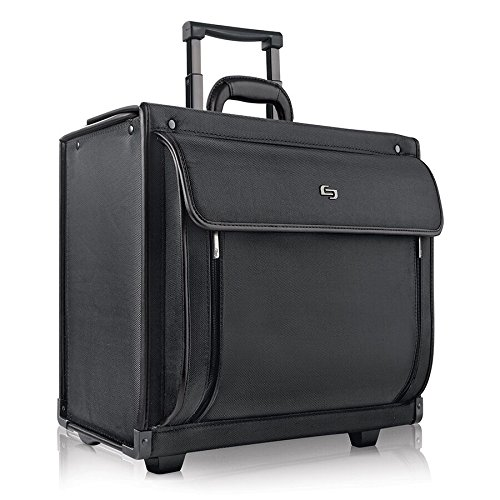 Solo Herald 15 6 Inch Rolling Laptop Catalog Case With