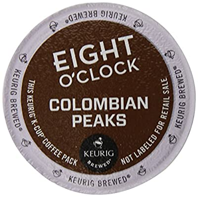 Eight O'Clock Colombian K-Cups for Keurig K-Cup Brewers, 72 Count