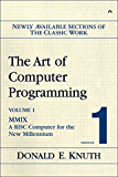 Art of Computer Programming, Volume 1, Fascicle 1, The: MMIX -- A RISC Computer for the New Millennium