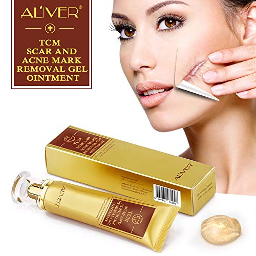Aliver TCM Scar and Acne Marks Removal Cream Skin Repair Scars Burns Cuts...